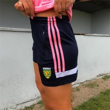 O'Neills Womens Donegal GAA Portland 49 Poly Shorts - Navy