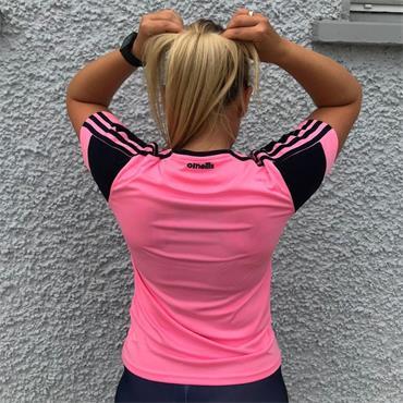 O'Neills Donegal Portland Womens 060 Tshirt - Pink