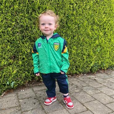 O'Neill's Infants Donegal GAA Portland152 Tracksuit - Green