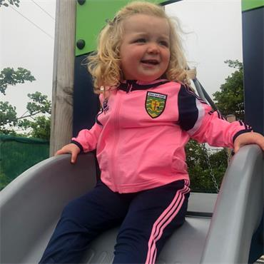O'Neills Donegal Portland 152 Girls Tracksuit - Pink