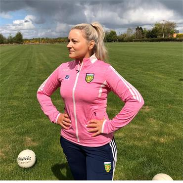 O'Neills Womens Donegal GAA Raven 026 Full Zip - Pink