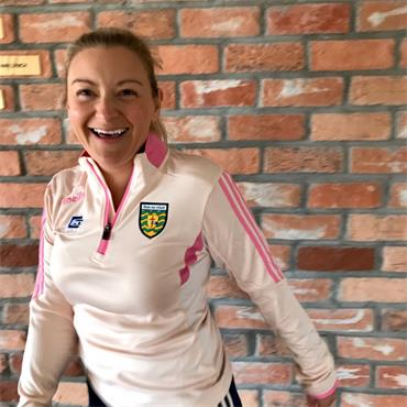 O'Neills Womens Donegal GAA Raven 033 Mid Layer Top - Coral