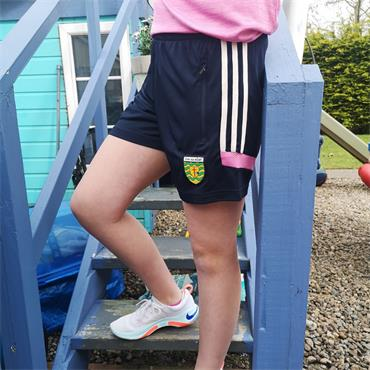 O'Neillls Girls Donegal GAA Raven 049 Shorts - Navy
