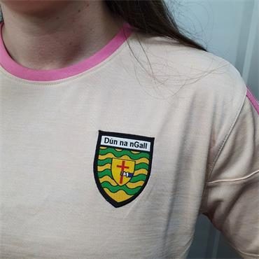 O'Neills Girls Donegal GAA Raven 060 T-Shirt - Coral