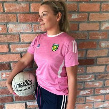 O'Neills Womens Donegal GAA Raven 060 T-Shirt - Pink