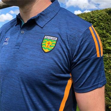 O'Neills Mens Donegal GAA Raven 061 Polo Shirt - Navy