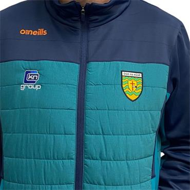 O'Neills Mens Donegal GAA Raven 071 Padded Jacket - Green