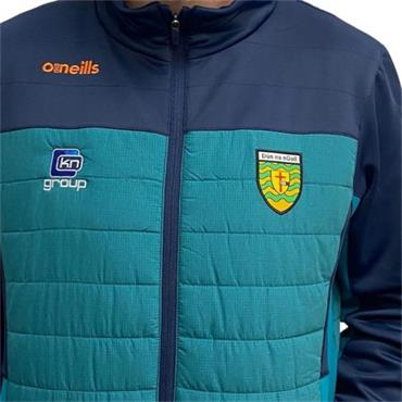 O'Neills Kids Donegal GAA Raven 071 Padded Jacket - Green