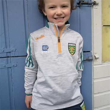 O'Neills Kids Donegal GAA Raven 122 Half Zip - Grey