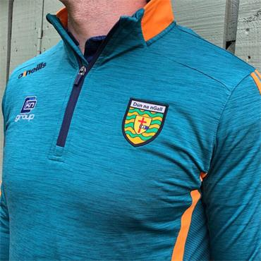 O'Neills Adults Donegal GAA Raven 122 Half Zip - Green