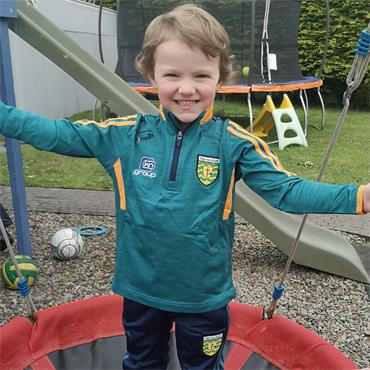 O'Neills Kids Donegal GAA Raven 122 Half ZIp - Green