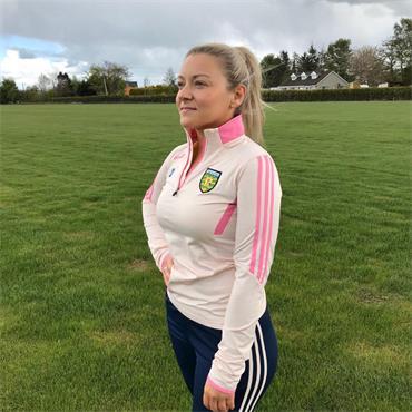 O'Neills Womens Donegal GAA Raven 122 Half Zip - Coral