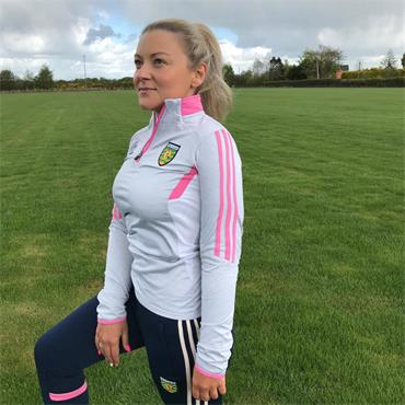 O'Neills Womens Donegal GAA Raven 122 Half Zip - Grey