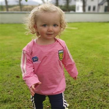 O'Neills Infants Donegal GAA Raven 152 Tracksuit - Pink