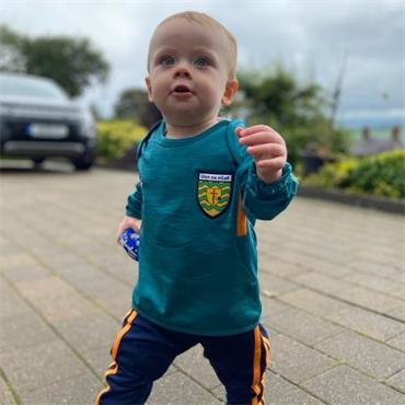 O'Neills Infants Donegal GAA Raven 152 Tracksuit - Green