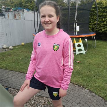 O'Neills Girls Donegal GAA Raven183 Sweater - Pink