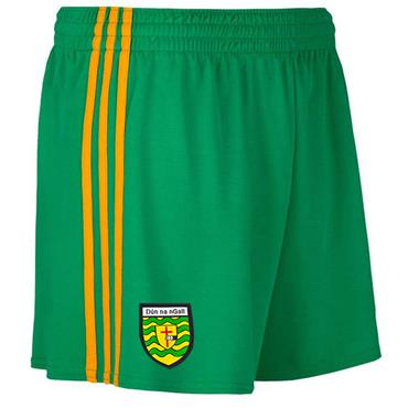 O'Neills Adults Donegal GAA Mourne Shorts 2019/20 - Green/Amber