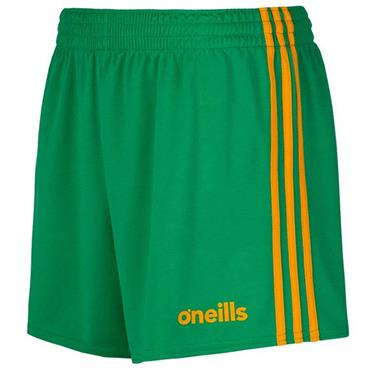 O'Neills Kids Donegal GAA Mourne Shorts 2019/20 - Green/Amber