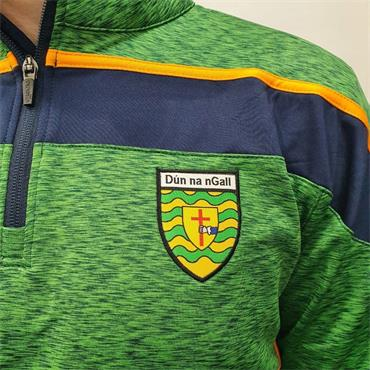 O'Neills Adults Donegal Slaney 122 Half Zip - Green