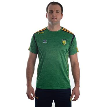 ADULTS DONEGAL SOLAR 01 TSHIRT - EMERALD/MARINE/AMBER