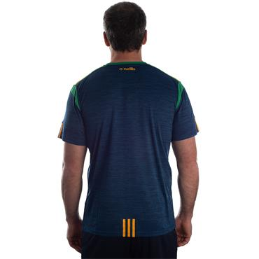ADULTS DONEGAL SOLAR 01 TSHIRT - MARINE/EMERALD/AMBER