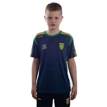 O'Neills Kids Donegal GAA Solar 01 T-Shirt - Marine