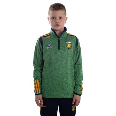KIDS DONEGAL SOLAR 122 BRUSHED HZ TOP - EMERALD/MARINE/AMBER