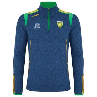 O'Neills Kids Donegal GAA Solar 122 Brushed Half Zip - Navy