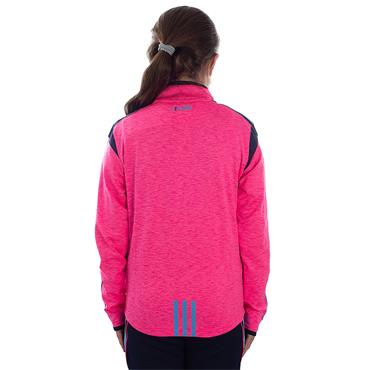 O'Neills Girls Donegal GAA Solar 122 Brushed Half Zip Top - Pink