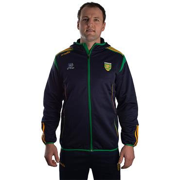 ADULTS DONEGAL SOLAR 19 FULL ZIP HOODIE - MARINE/EMERALD/AMBER