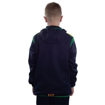 KIDS DONEGAL SOLAR 19 FULL ZIP HOODIE - MARINE/EMERALD/AMBER