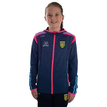 O'Neills Girls Donegal GAA Solar 21 Brushed Full Zip Hoodie - Marine