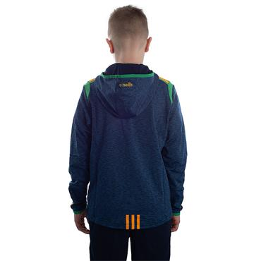 KIDS DONEGAL SOLAR 21 FULL ZIP HOODY - MARINE/EMERALD/AMBER