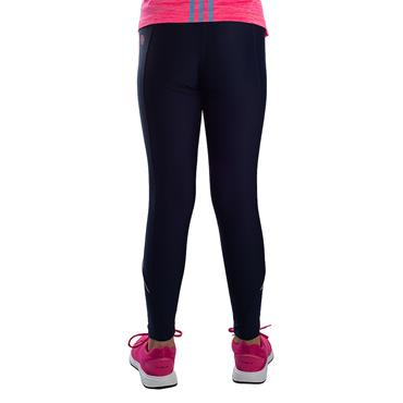 GIRLS DONEGAL SOLAR 40 LEGGING - MARINE/PINK