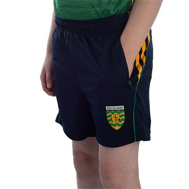 KIDS DONEGAL SOLAR 49 SHORTS - MARINE/AMBER/EMERALD