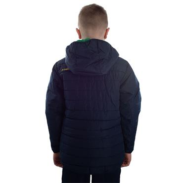 KIDS DONEGAL SOLAR 72 PADDED JACKET - MARINE/EMERALD/AMBER