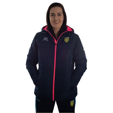 WOMENS DONEGAL SOLAR 72 PADDED JACKET - NAVY