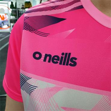 O'Neills Womens Donegal Training Jersey - Pink