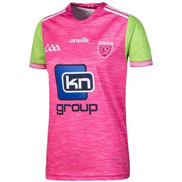 WOMENS DONEGAL GAA JERSEY 2018 - PINK/GREEN