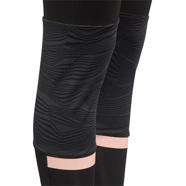 ADIDAS GIRLS LEGGINGS - BLACK