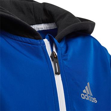 ADIDAS BOYS COMFI TRACK JACKET - BLUE/BLACK