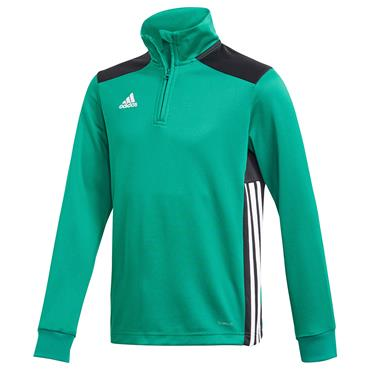 ADIDAS BOYS REGISTA 18 TRAINING TOP - GREEN