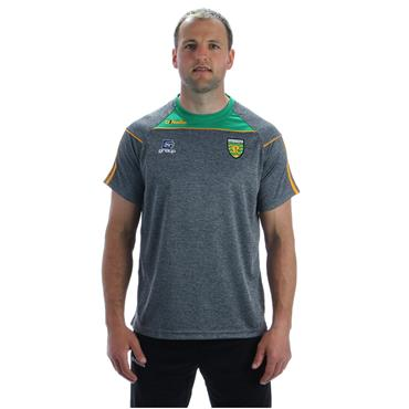 KIDS DONEGAL ASTON 01 TSHIRT - GREY/GREEN