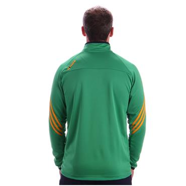 O'Neills Adults Donegal GAA Darwin Half Zip Top - Green/Amber