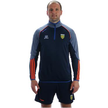 KIDS DONEGAL DILLON 30 HALF ZIP - NAVY/GREY