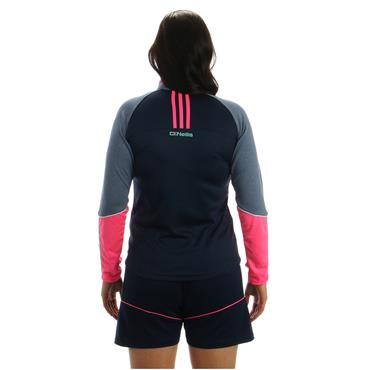 WOMENS DONEGAL DILLON 33 HZ TOP - NAVY/PINK