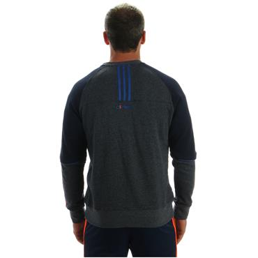 KIDS DONEGAL DILLON 98 CREW TOP - GREY/NAVY