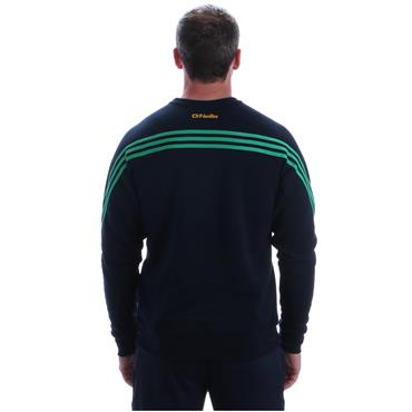 ADULTS DONEGAL PARNELL 92 CREW TOP - NAVY/GREEN