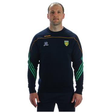 O'Neills Kids Donegal GAA Parnell 92 Crew Top - Navy/Green