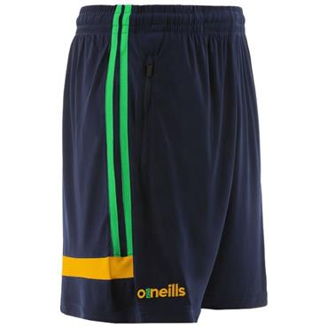O'Neills Adults Donegal GAA Portland 49 Poly Shorts - Navy